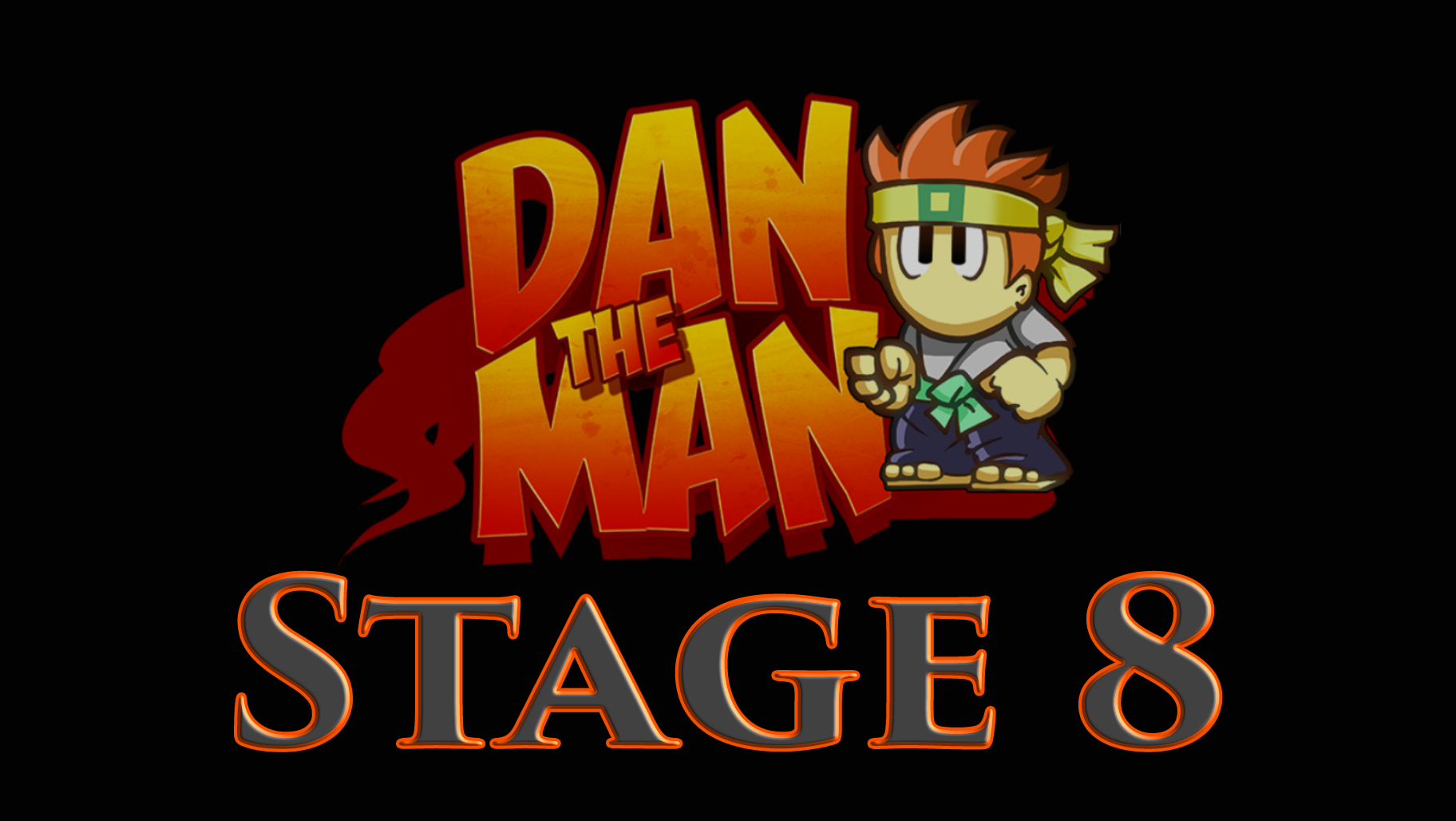 Dan The Man Stage 8 – GamePlay (Игровое Видео)